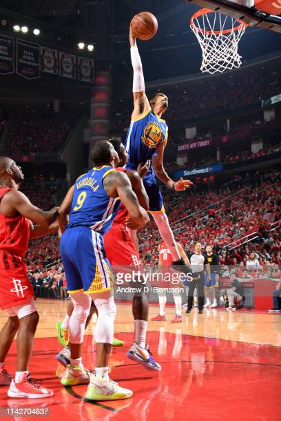 Shaun Livingston of the Golden State Warriors goes to the basket against the Houston Rockets during Game Six of the Western Conference Semifinals of...