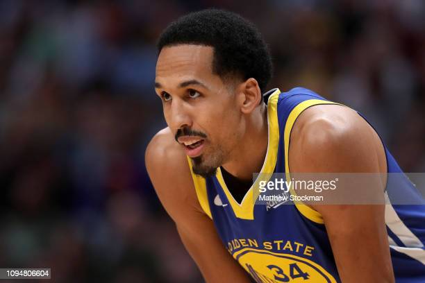 Shaun Livingston of the Golden State Warriors plays the Denver Nuggets at the Pepsi Center on January 15, 2019 in Denver, Colorado. NOTE TO USER:...