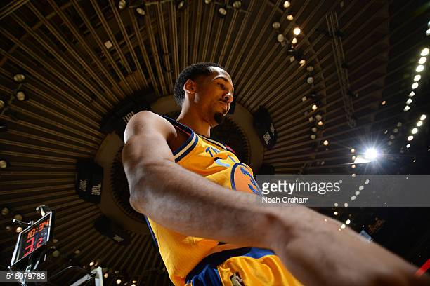 Shaun Livingston of the Golden State Warriors while facing the Washington Wizards on March 29 2016 at Oracle Arena in Oakland California NOTE TO USER...