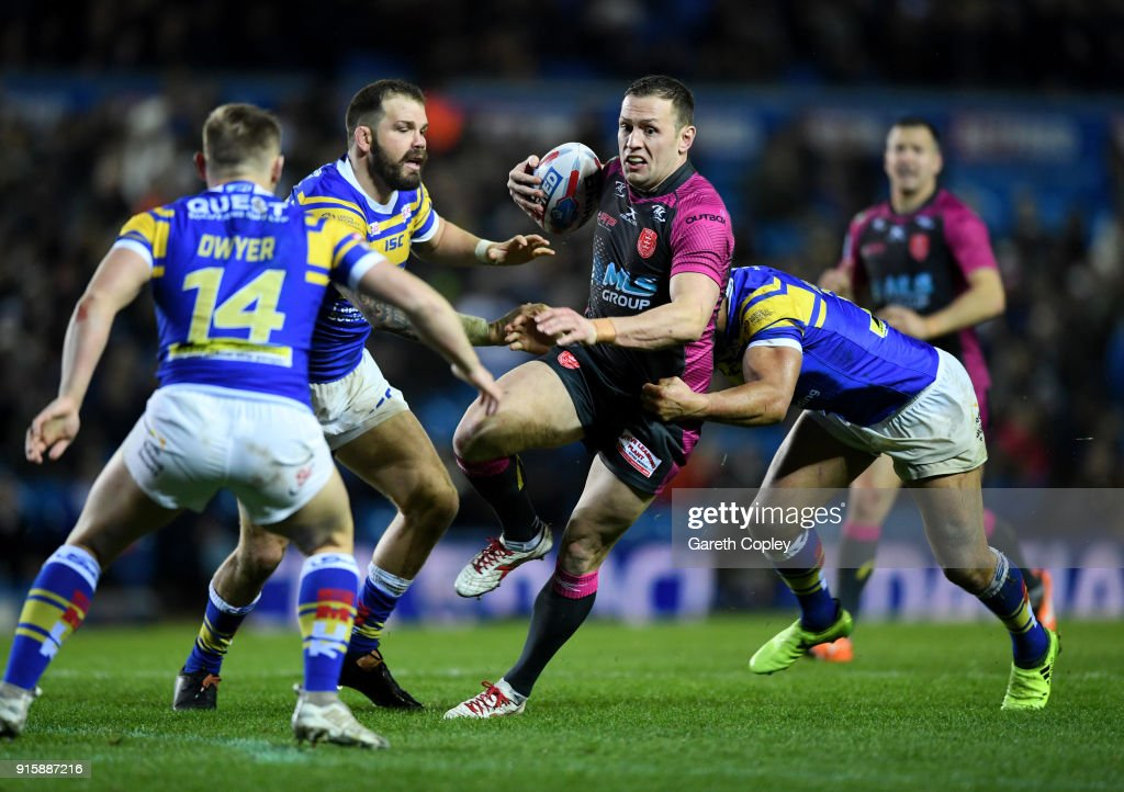 Leeds Rhinos v Hull KR - Betfred Super League : News Photo