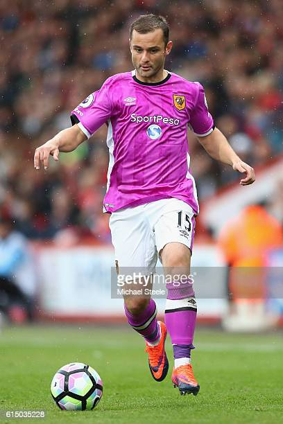 Shaun Maloney of Hull City during the Premier League match between AFC Bournemouth and Hull City at Vitality Stadium on October 15 2016 in...