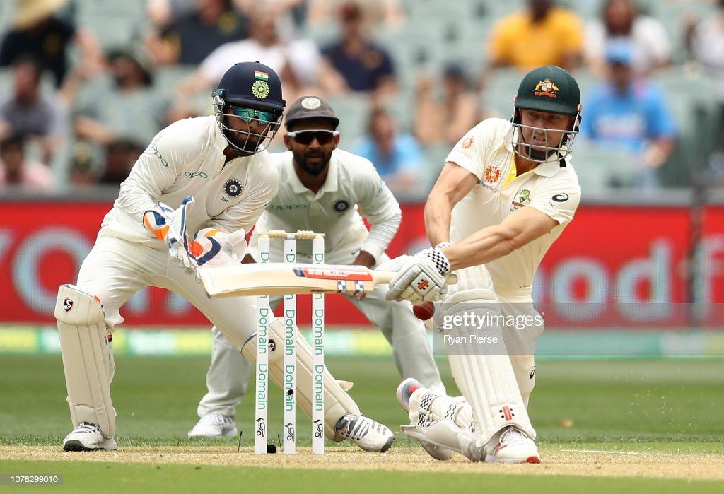 Australia v India - 1st Test: Day 2 : News Photo