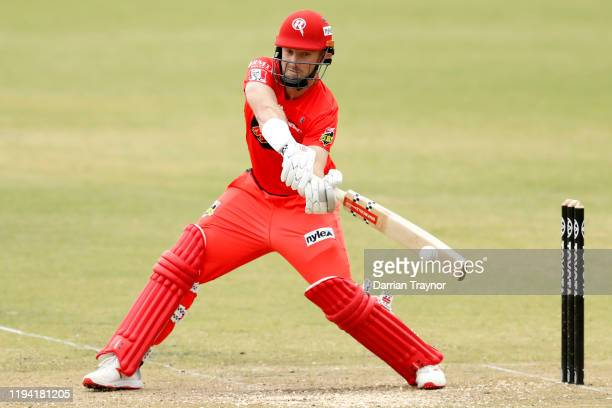 Shaun Marsh of the Renegades bats during a Big Bash League practice match between the Melbourne Stars and the Melbourne Renegades at CitiPower Centre...
