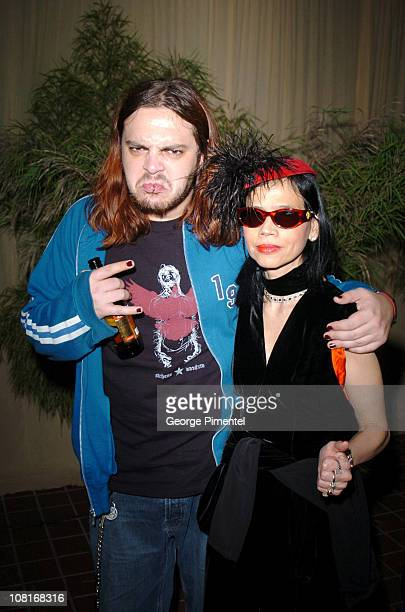 Shaun Morgan and Diana Meitzer of Evanescence during Atlantic Records at Warner Music Group 2005 After GRAMMY Awards Party at Pacific Design Center...