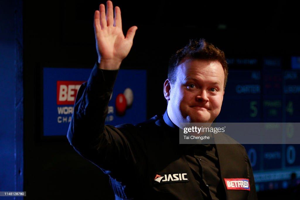 GBR: 2019 Betfred World Snooker Championship - Day 6