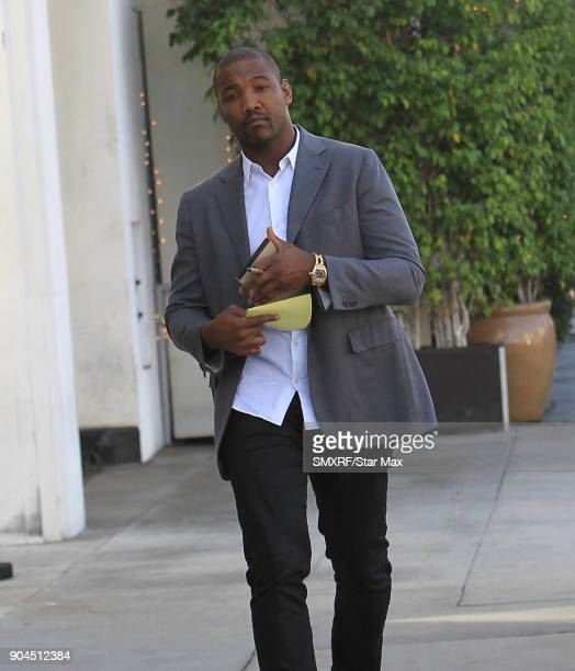 Shaun Phillips is seen on January 12 2018 in Los Angeles CA