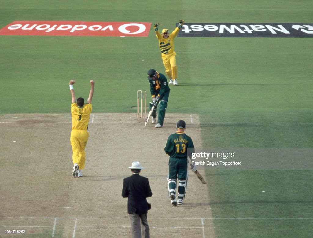 ICC Cricket World Cup Semi Final - Australia v South Africa : News Photo