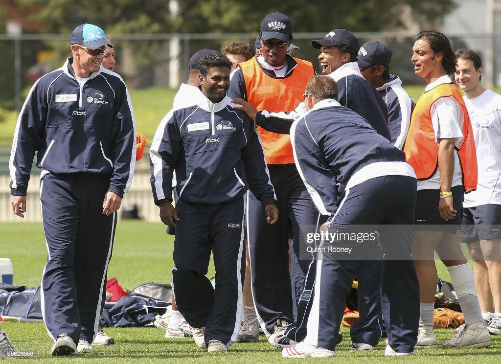 ICC World Xl Squad Training : News Photo
