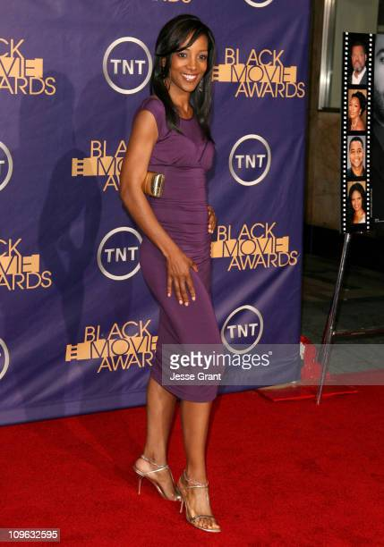 Shaun Robinson 12556_JG_0598jpg during 2006 TNT Black Movie Awards Arrivals at Wiltern Theatre in Los Angelses California United States