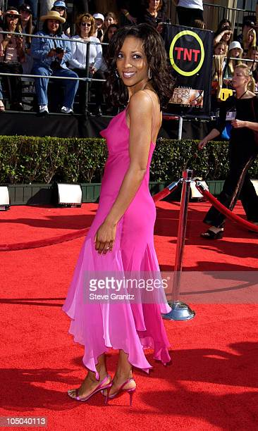 Shaun Robinson during 9th Annual Screen Actors Guild Awards Arrivals at Shrine Exposition Center in Los Angeles California United States