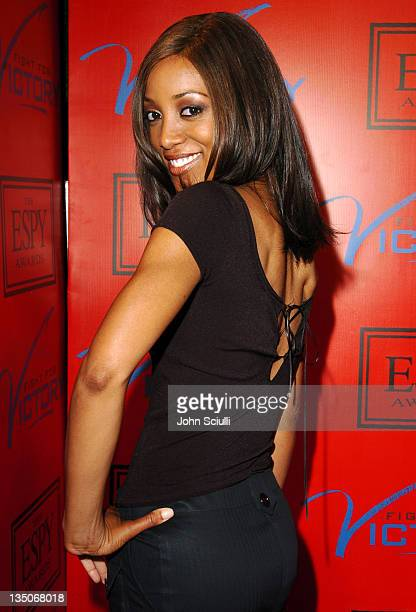 Shaun Robinson during Tom Brady and ESPN Host Fight For Victory PreParty for the 12th Annual ESPY Awards at Playboy Mansion in Los Angeles California...