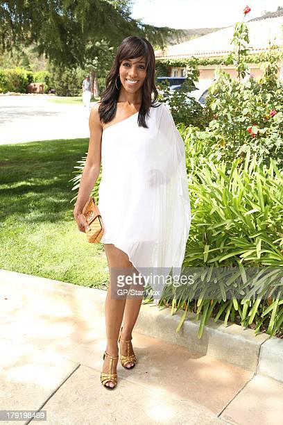 Shaun Robinson is seen on August 31 2013 in Los Angeles California