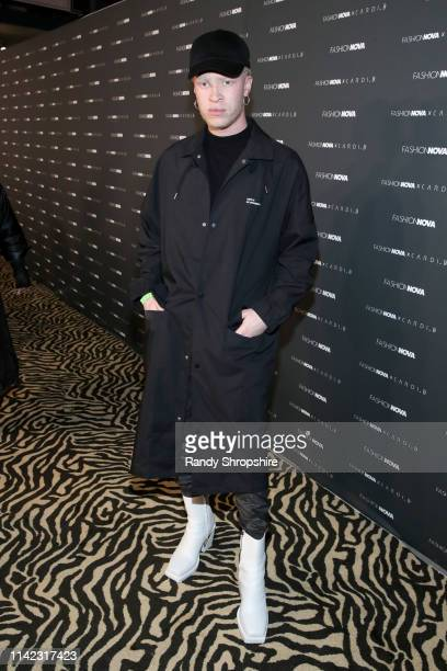 Shaun Ross arrives as Fashion Nova Presents Party With Cardi at Hollywood Palladium on May 8 2019 in Los Angeles California