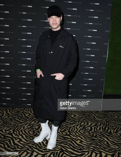 63171436 Shaun Ross arrives at the Fashion Nova x Cardi B Collection Launch Party at  Hollywood Palladium