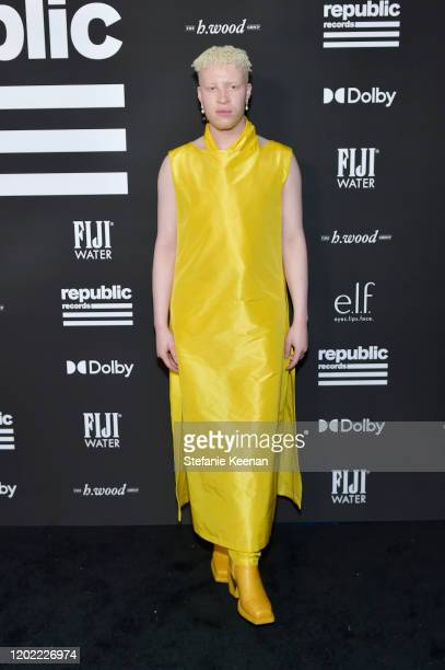 Shaun Ross attends FIJI Water At Republic Records 2020 Grammy After Party on January 26 2020 in West Hollywood California