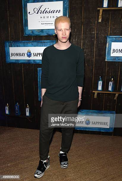 Shaun Ross attends The 6th Annual Bombay Sapphire Artisan Series Grand Finale Cohosted By Russell Simmons And Rosario Dawson During Art Basel at...
