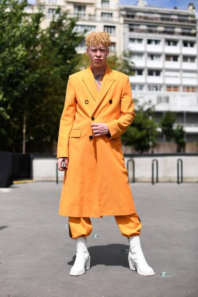 FRA: Acne Studios : Arrivals - Paris Fashion Week - Menswear Spring/Summer 2020