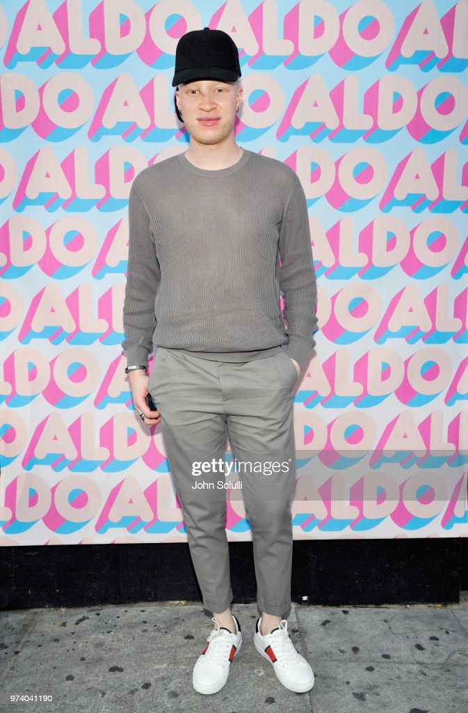 Shaun Ross attends the Aldo LA Nights 2018 at The Rose Room on June 13, 2018 in Venice, California.