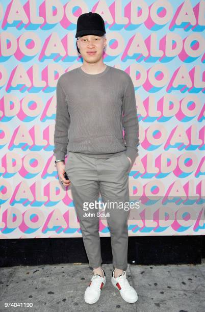 Shaun Ross attends the Aldo LA Nights 2018 at The Rose Room on June 13 2018 in Venice California