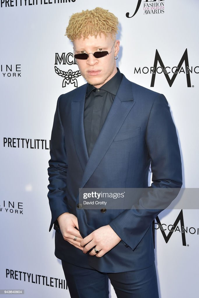 Shaun Ross attends The Daily Front Row's 4th Annual Fashion Los Angeles Awards - Arrivals at The Beverly Hills Hotel on April 8, 2018 in Beverly Hills, California.
