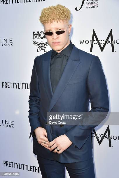 Shaun Ross attends The Daily Front Row's 4th Annual Fashion Los Angeles Awards Arrivals at The Beverly Hills Hotel on April 8 2018 in Beverly Hills...