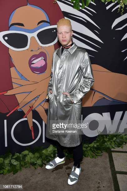 Shaun Ross attends the Fashion Nova x Cardi B Collaboration Launch Event at Boulevard3 on November 14 2018 in Hollywood California