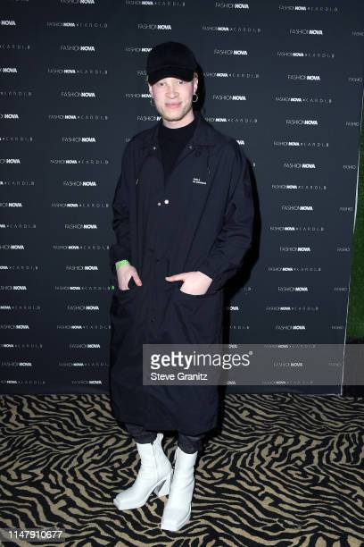 Shaun Ross attends the Fashion Nova x Cardi B Collection Launch Party at Hollywood Palladium on May 08 2019 in Los Angeles California