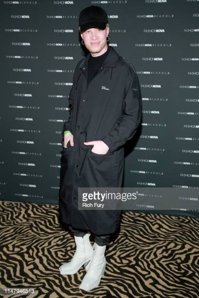 f69098e0 Shaun Ross attends the Fashion Nova x Cardi B Collection Launch Party at  Hollywood Palladium on