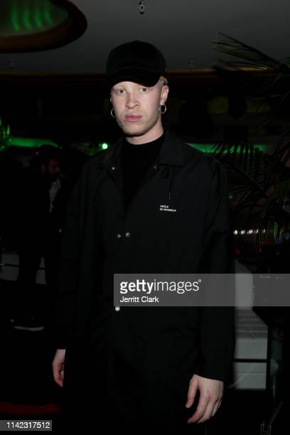 Shaun Ross is seen as Fashion Nova Presents Party With Cardi at Hollywood Palladium on May 8 2019 in Los Angeles California