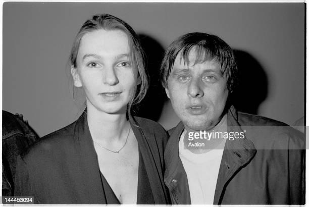Shaun Ryder and then girlfirend Astrella at The Hacienda Manchester 10th May 1991
