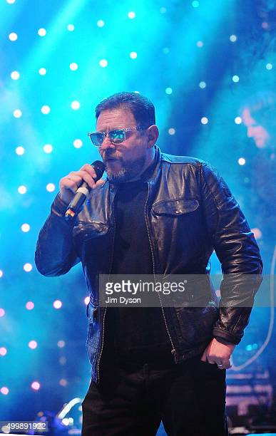Shaun Ryder of Happy Mondays performs live on stage at O2 Academy Brixton on December 3 2015 in London England