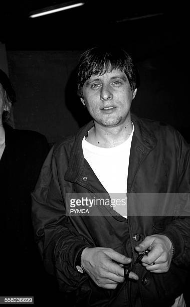 Shaun Ryder of the Happy Mondays in the Hacienda Manchester 1988