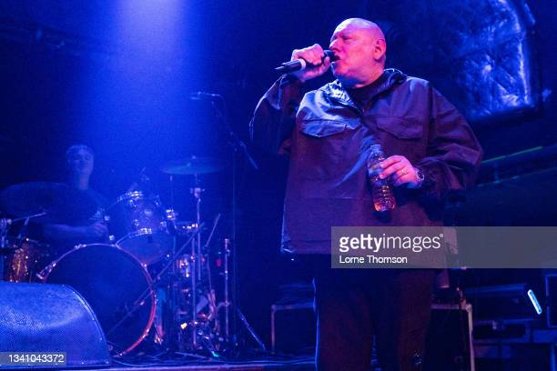 Shaun Ryder off Black Grape performs at O2 Academy Islington on September 17, 2021 in London, England.