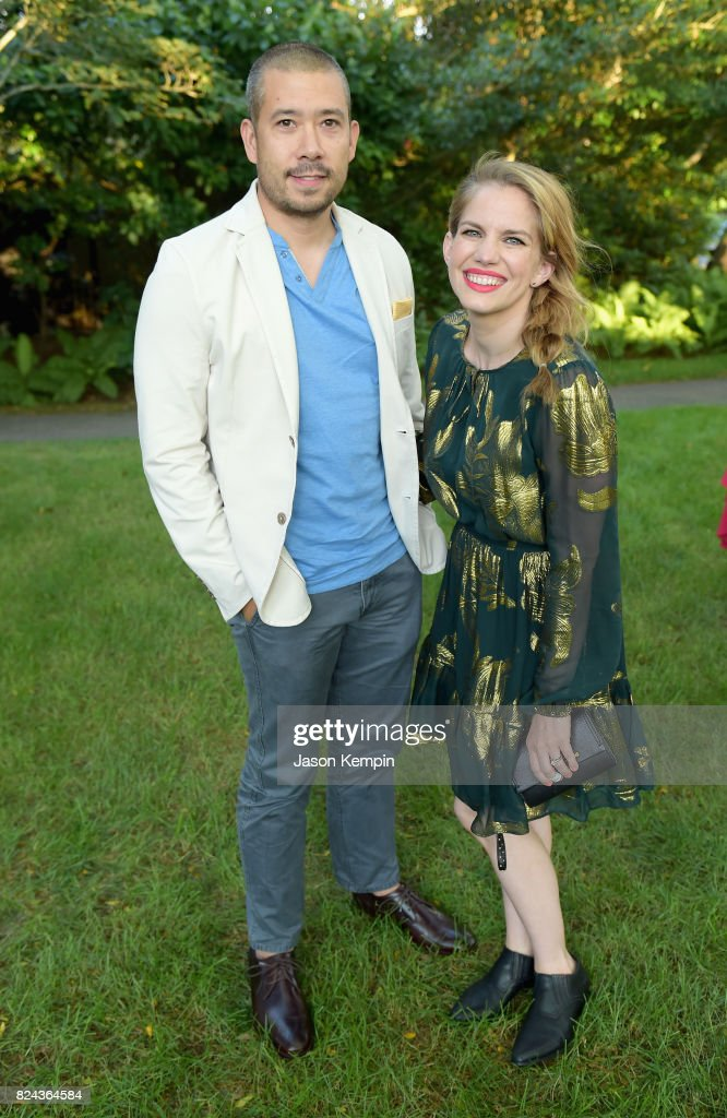 Shaun So And Anna Chlumsky Attend The Good Foundations Hamptons