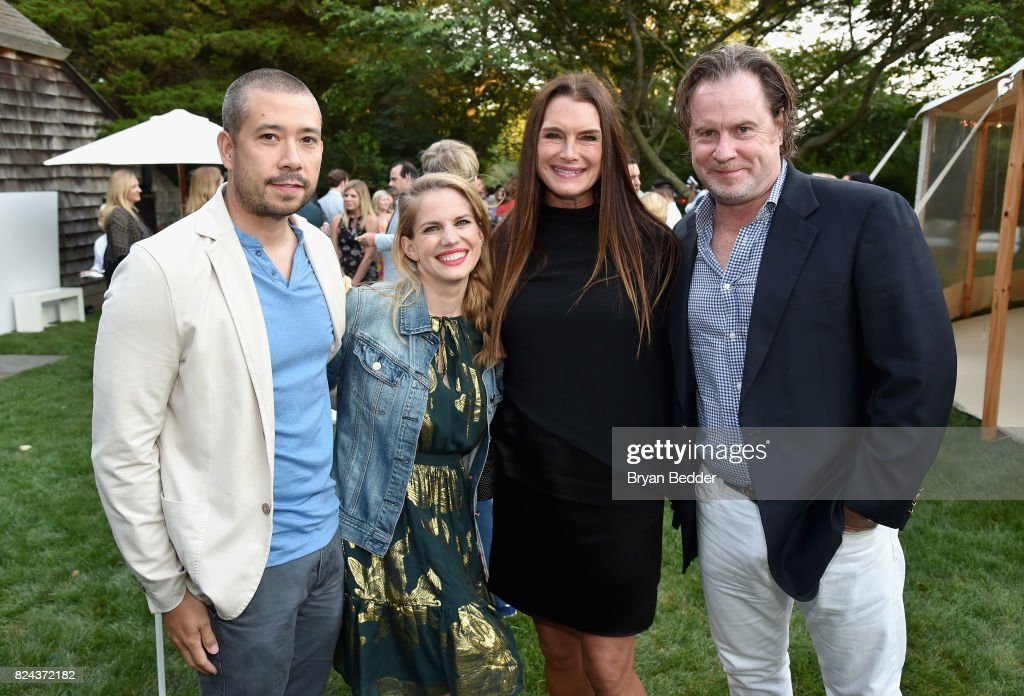 Shaun So Anna Chlumsky Brooke Shields And Chris Henchy Attend The