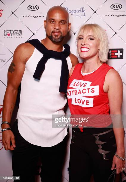 Shaun T and Bethanie MattekSands attend Kia STYLE360 Hosts Uncommon James Chinese Laundry by Kristin Cavallari Hosted at Bagatelle NYC and Presented...