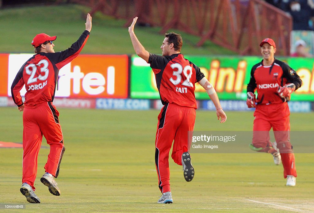 South Australian Redbacks v Warriors:2010 Champions League 20/20 Semi Final