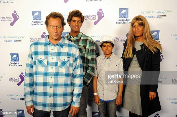 Shaun Tomson attends The Surfrider Foundation's 25th Anniversary Gala at the California Science Center's Wallis Annenberg Building on October 9 2009...