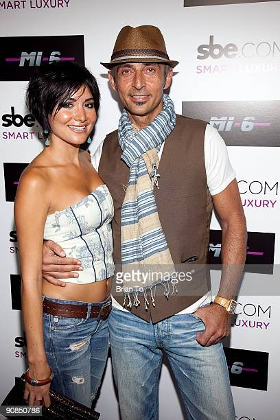 Shaun Toub and Lorena De Fatima Mendoza attend Mi6 Nightclub Grand Opening Party on September 15 2009 in West Hollywood California