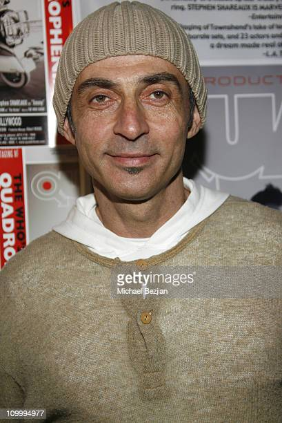 Shaun Toub during Quadrophenia Musical Theatre Performance at The Avalon in Hollywood California United States
