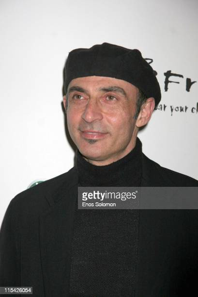 Shaun Toub during Sony Ericsson and Cingular Wireless Present The 2 B Free Fall 2006 Collection Red Carpet at Regent Beverly Wilshire in Beverly...