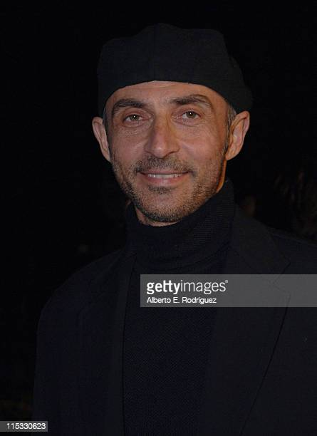 Shaun Toub during Zodiac Los Angeles Premiere Arrivals at Paramount Studios in Hollywood California United States