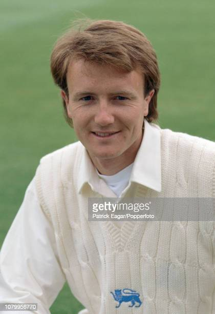 Shaun Udal of Hampshire before making his England debut in the 1st Texaco Trophy One Day International between England and New Zealand at Edgbaston...