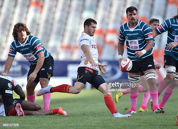 Shaun Venter of the Cheetahs during the Absa Currie Cup match between Toyota Free State and ORC Griquas at Free State Stadium on September 19, 2015...