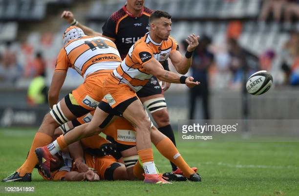 Shaun Venter of the Toyota Cheetahs during the Guinness Pro14 match between Toyota Cheetahs and Isuzu Southern Kings at Toyota Stadium on February 02...