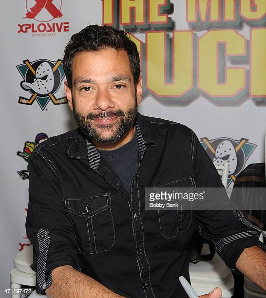 Shaun Weiss from the movie The Mighty Ducks attends day 2 of the Chiller Theater Expo at Sheraton Parsippany Hotel on April 25 2015 in Parsippany New...
