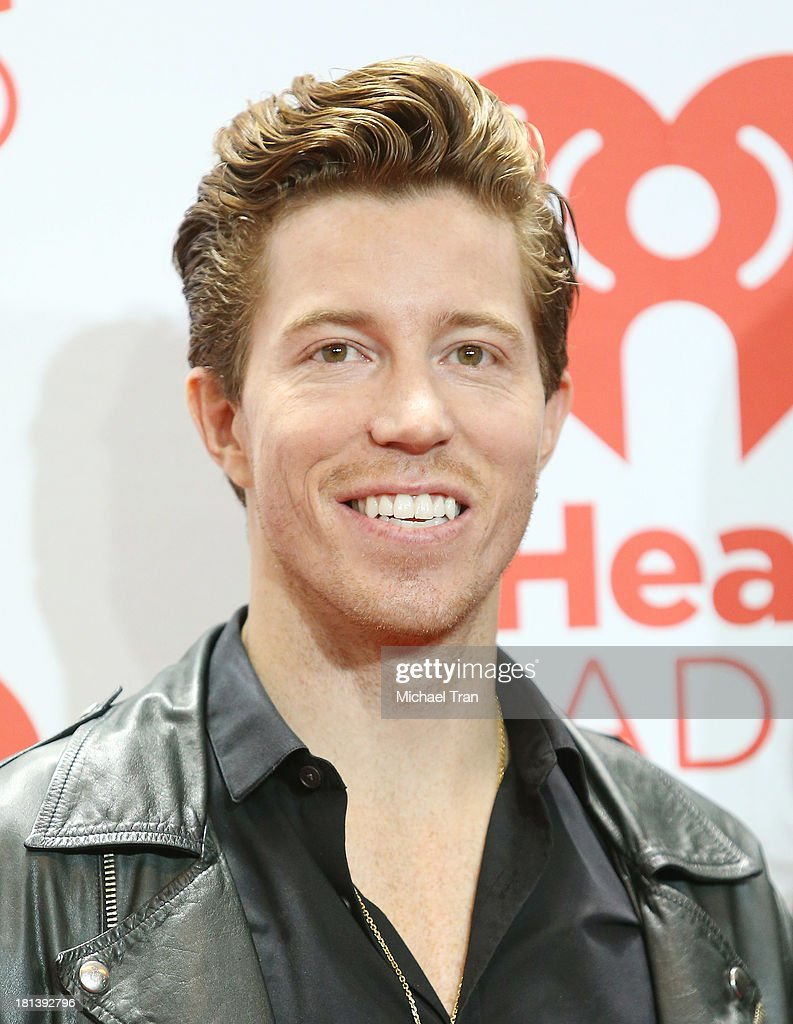 Shaun White arrives at the iHeartRadio Music Festival - press room held at MGM Grand Arena on September 20, 2013 in Las Vegas, Nevada.