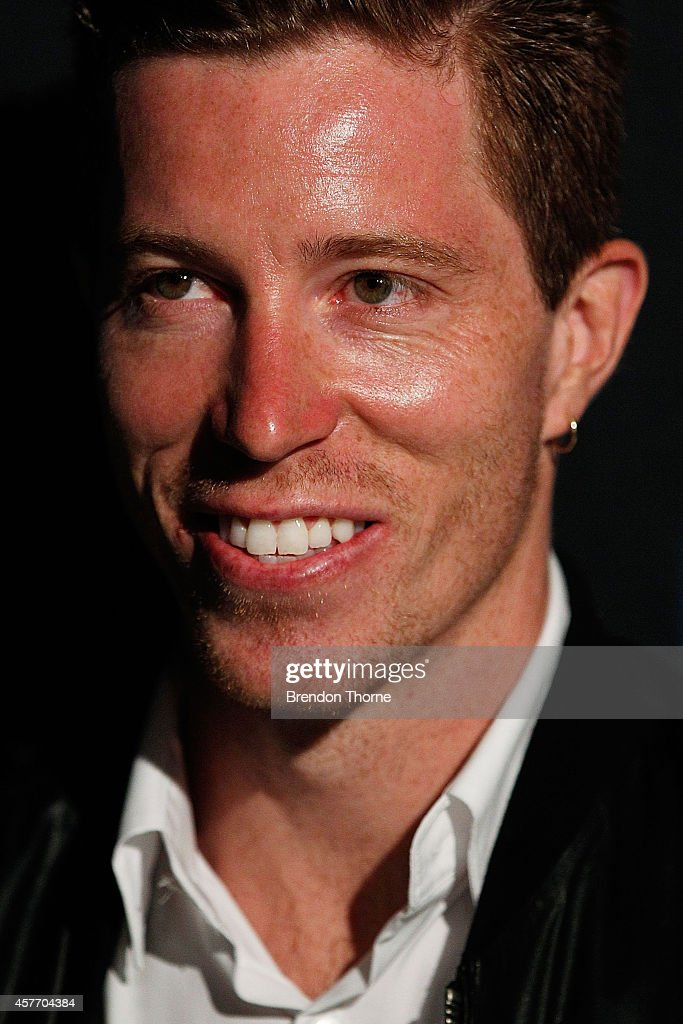 Shaun White arrives at the Oakley Future Sport Project event on October 23, 2014 in Sydney, Australia.