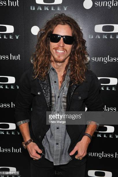 c90318d851295 Shaun White attends the debut of the Oakley Holbrook collection exclusively  at Sunglass Hut Flagship on