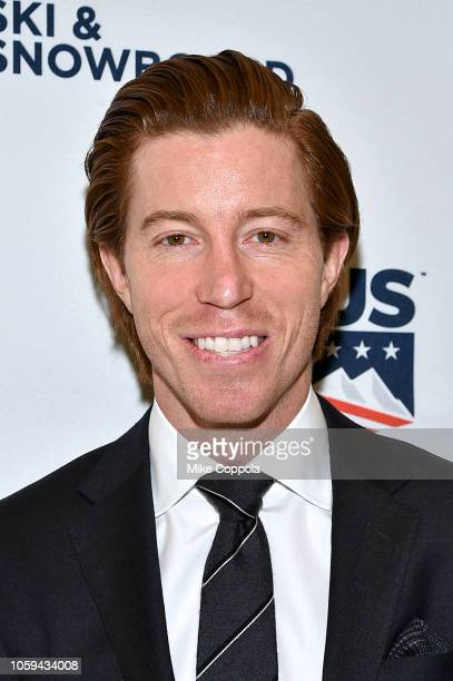 Shaun White attends the Gold Medal Gala at The Ziegfeld Ballroom on October 25 2018 in New York City